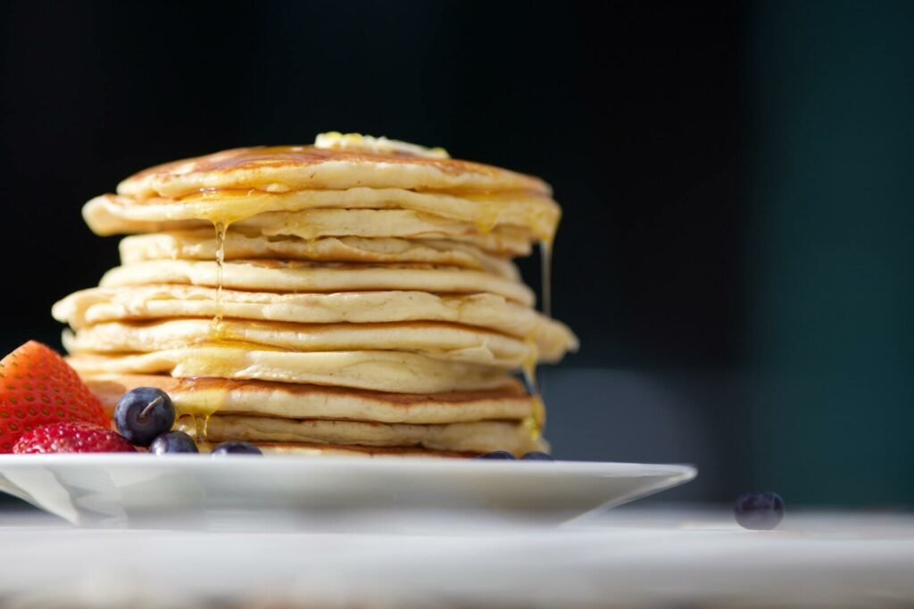 how to keep pancakes warm - oven