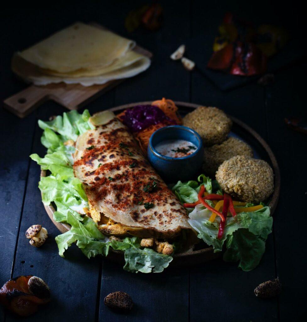 shawarma vs doner - pita bread