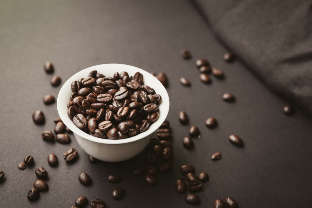 how to get rid of cooking smells in small apartment - coffee beans